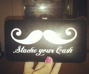 mustache fashion simple