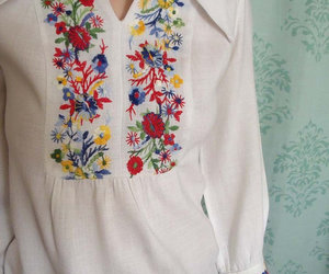 shirt with broidery