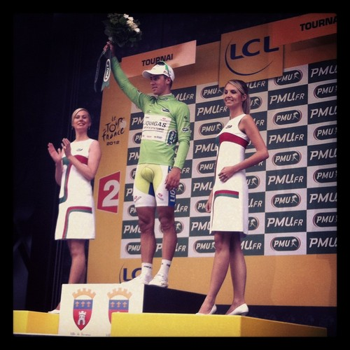 Twitter / Liquigas_Cdale: Peter Sagan places 6th in