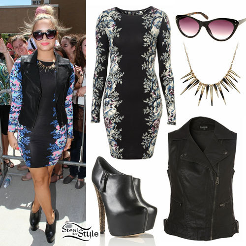 demi lovato style clothes - photo #14