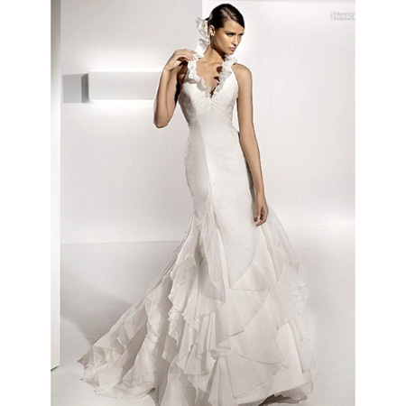 Wedding Church on Elegant Tiered Mermaid Wedding Dresses  2012 Spring Long Church Bridal