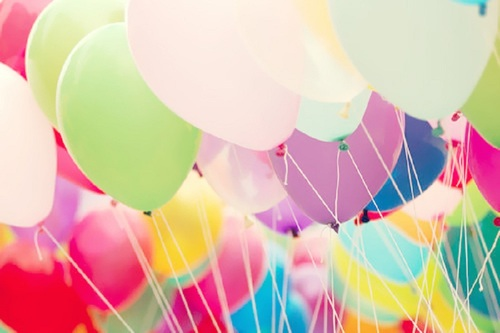 Rengarenk Balon Resimleri Rengarenk U�an Balonlar...
