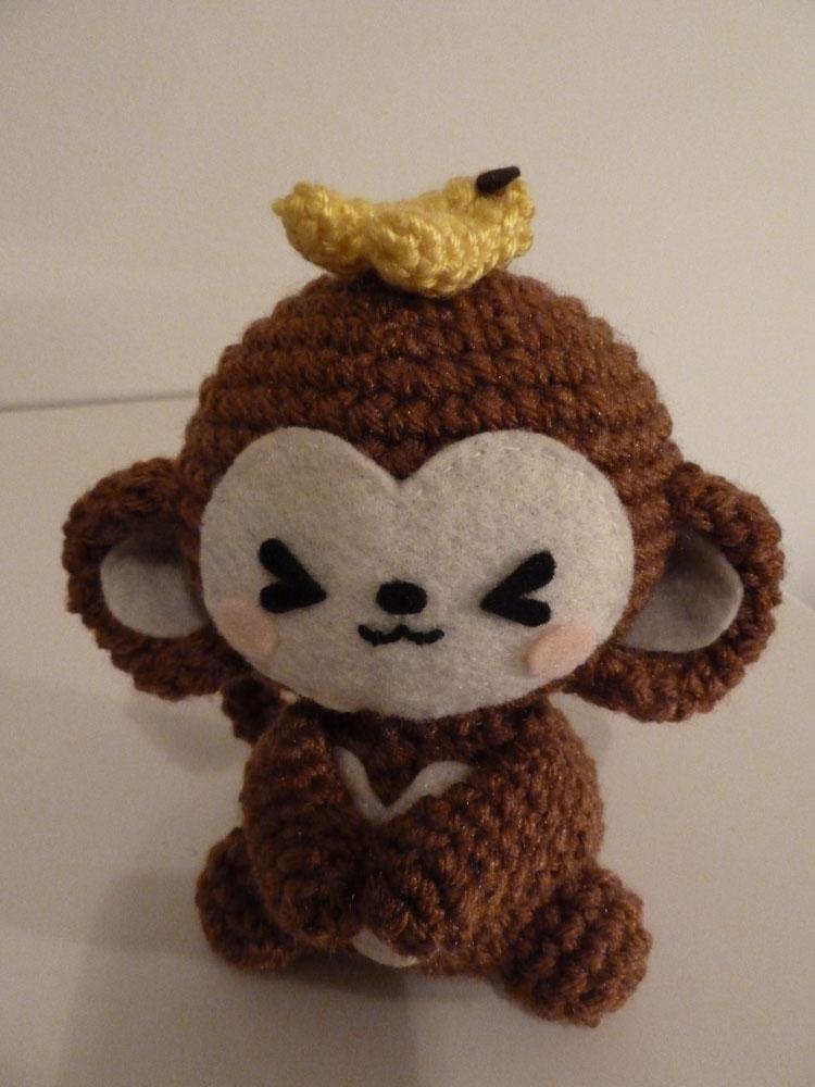 Kawaii Monkey Amigurumi : Cute Amigurumi! Monkey Amigurumi We Heart It kawaii ...