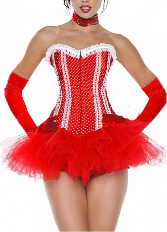 Buy discount Sexy Satin&Tulle Bustiers&Corset at dressilyme.com