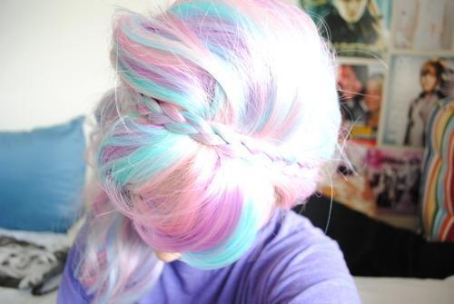 (1) Crazy Hair Colors ♥