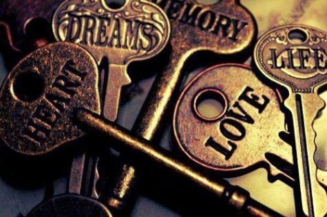 Keys with words