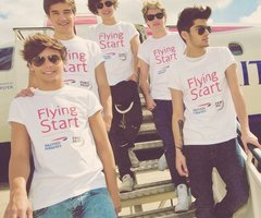 one direction flying start on We Heart It