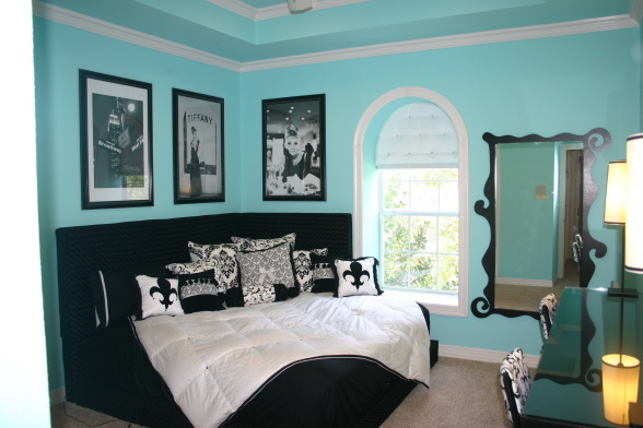 Tiffany Blue Teen Bedroom Girls Room Designs