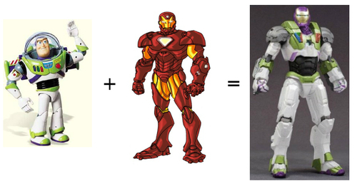 tumblr m7kxxvZ1qI1r4tr2vo1 500 large Buzz Lightyear goes Ironman. Toy Story meets...   Clouds, leather & fire. So right & hopeless.