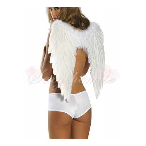 Angel Wings Halloween Costumes TQL120322002 large Angel Costume Adult   Angel Costume Adult
