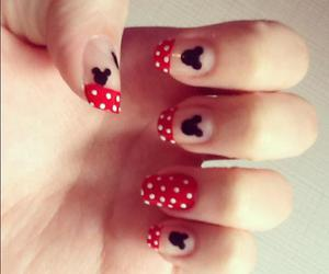 nails miney mickey disney
