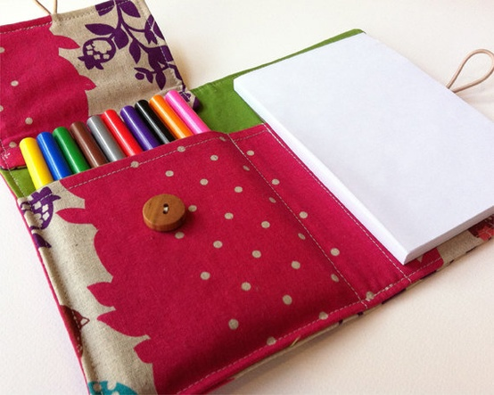 Craft fair ideas childrens art wallet by alex we heart it for Sewing to sell at craft fairs