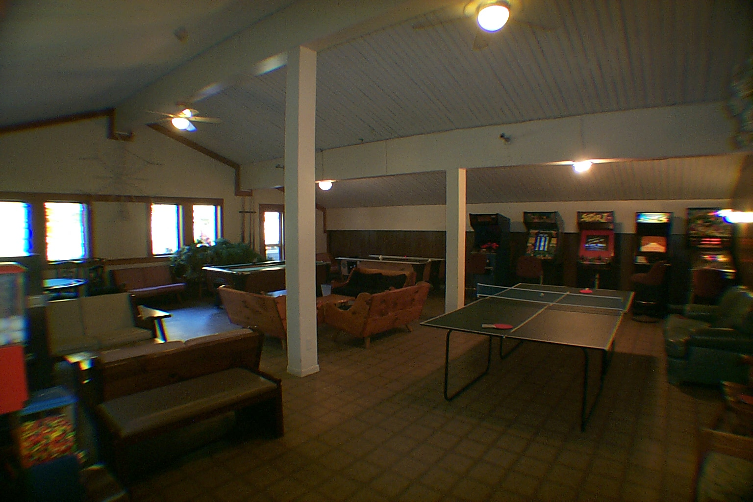 Decorating For Luxury Home, Games Room With Pool Table, Ping Pong, Foosball,  Air Hockey U0026 Arcade .