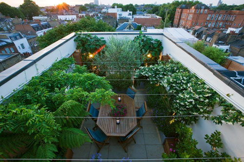 Roof Garden Pictures roof gardens | home design ideas on we heart it
