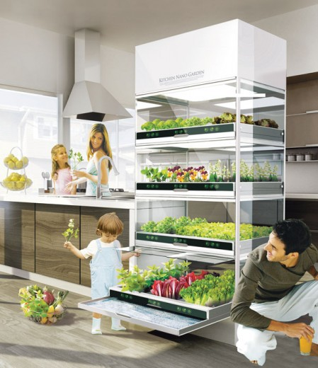 kitchen nano garden | Home Interior Designs Inspiration Ideas on ...