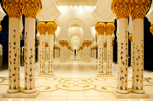 Abu Dhabi Mosque | Flickr - Photo Sharing!