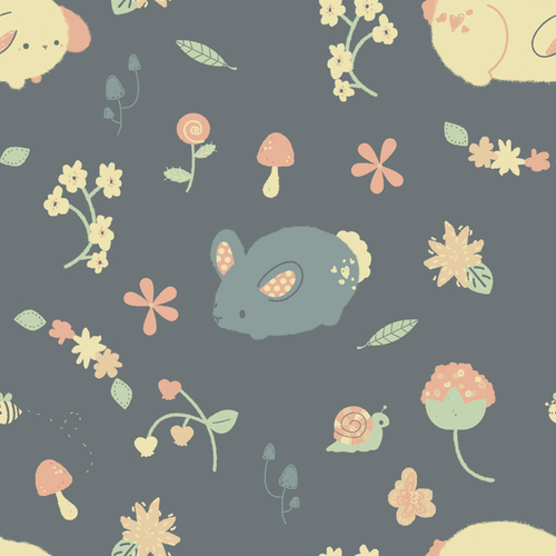 Bunny_garden_pattern_by_pronouncedyou-d59jb24_large