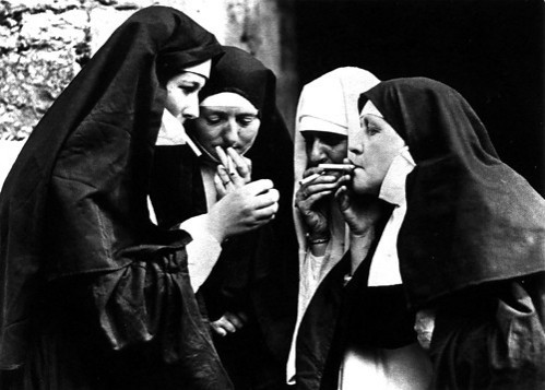 Cigarettes_nuns_smoking_cigarette_photography_b_w-d44e21c37162a132ded3d83ac48787ad_h_large