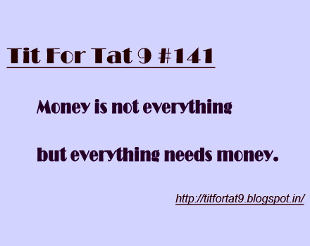 essays on money is not everything By visually attaching money isnt everything to the there are many components in life that money cannot purchase it has been blamed for everything from wars to.