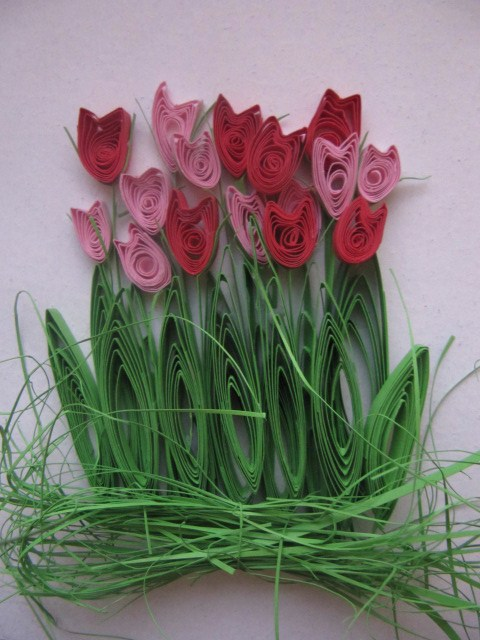 Весенний квиллинг: цветы