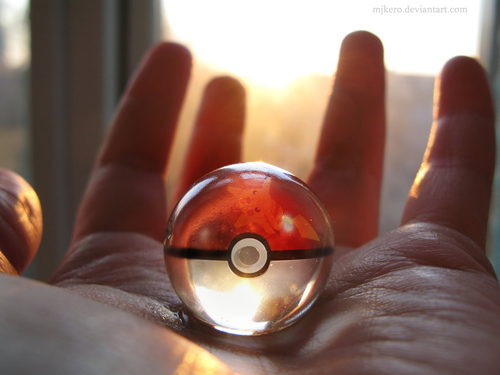 Pikachu Pokeball by ~MJKero on deviantART