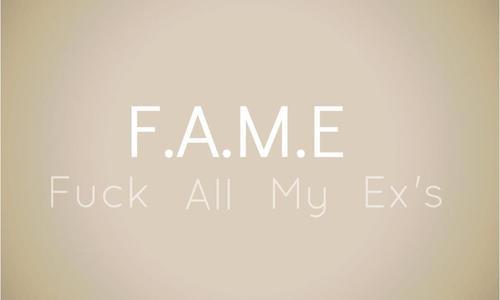 FAME (დიდება) - გამონათქვამები