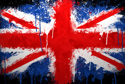 union jack, paint, uk - inspiring picture on Favim.com