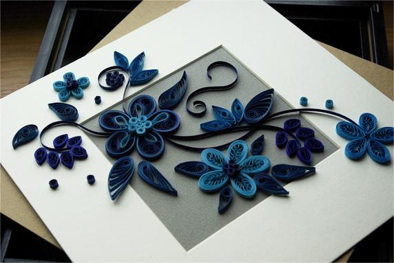 Квиллинг цветы из бумаги