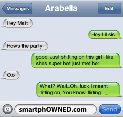 how to text a girl you know