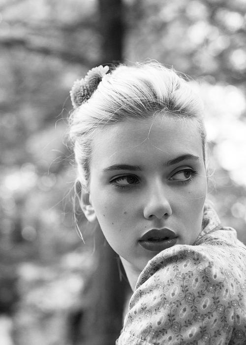 • Scarlet Johansson •