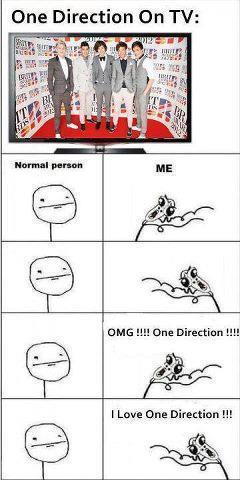 Twitter / jessleal7: This is me when One Direction ...