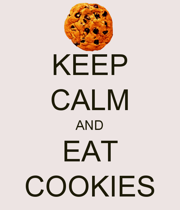 Group of cookies  and  calm  Keep Calm And Love Cookies