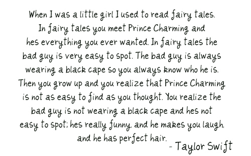 Taylor Swift Quotes About Love Tumblr