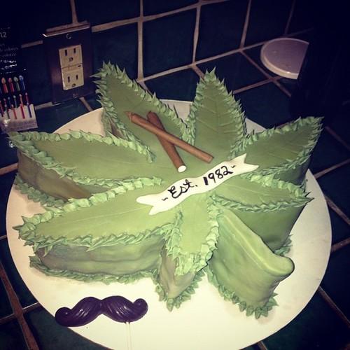 Birthday Weed Hash Hush High Smoke Cake Delish