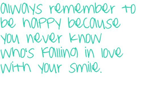 Quotes About Smiles Simple 40 Smile Quotes To Make You Smile