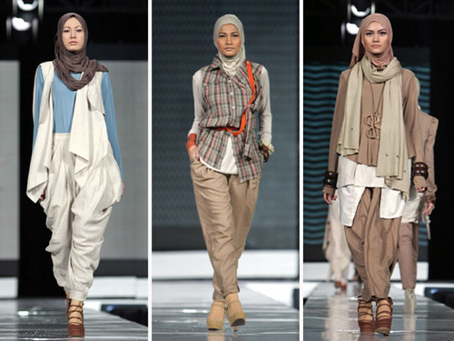 Muslim Fashion Trends 2012
