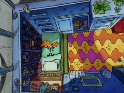 Hey Arnold Boarding House Rooms