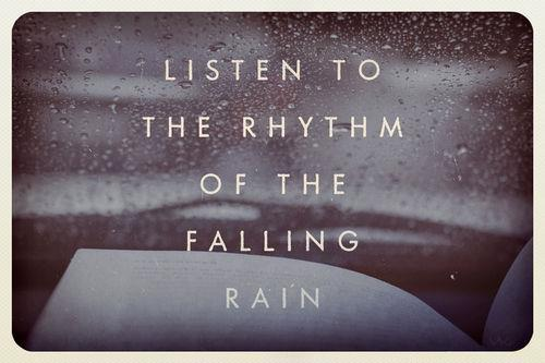 rain quotes sayings positive cute rythm best large rain, quotes ...