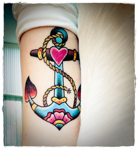 anchor tattoo Tumblr picture on vi.sualize.us