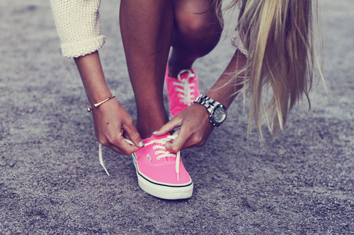 Keds And Heels.