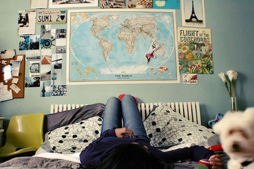 Inspiratie voor slaapkamer muur - Girlscene Forum