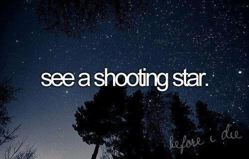 Shooting Star Wish Quote