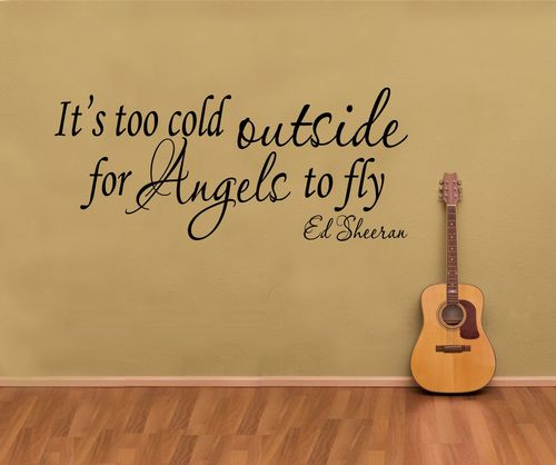 Ed Sheeran Lyric Quotes Quotesgram
