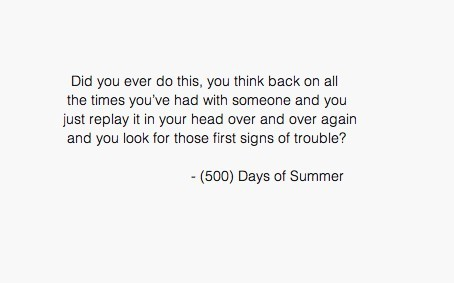 Quotes About Love From 500 Days Of Summer : If I could hate you, I would somethingyoushouldhaveknown