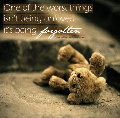 Quotes About Being Forgotten By Friends. QuotesGram