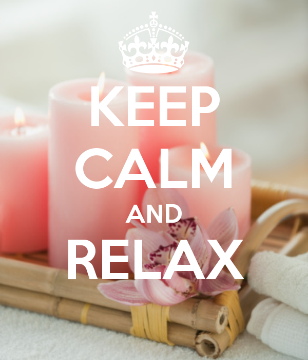 how to feel calm and relaxed