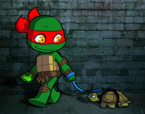 Raph_and_his_baby_by_sneefee-d5e24gz_large