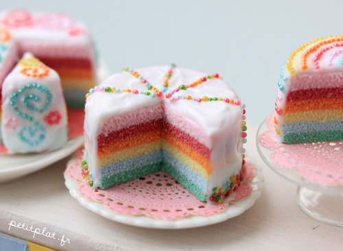How To Rainbow Cake