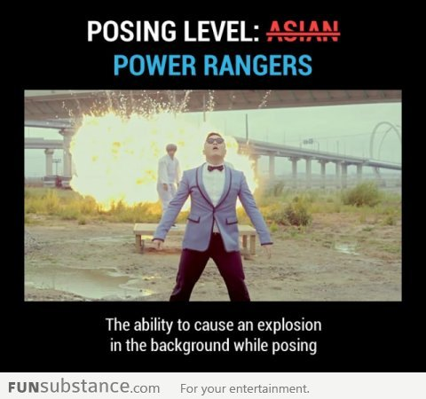 Psy Gangnam Style Level: Power Rangers - FunSubstance.com
