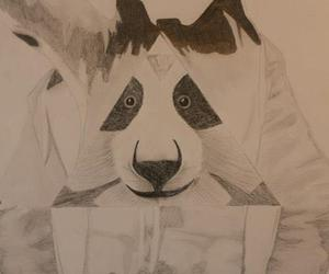 cro love panda drawing